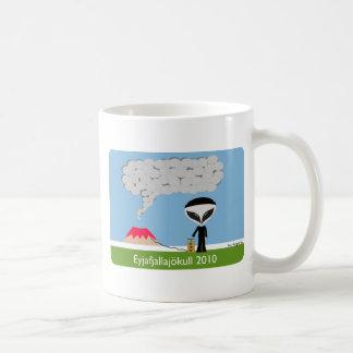 アイスランドの火山2010マグ コーヒーマグカップ