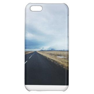 アイスランドの道 iPhone 5C カバー