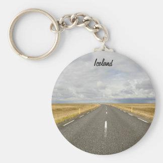 アイスランドの道Keychain キーホルダー