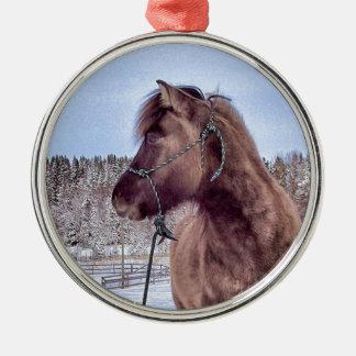 アイスランドの馬力 メタルオーナメント