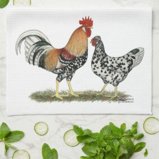 アイスランドの鶏 キッチンタオル
