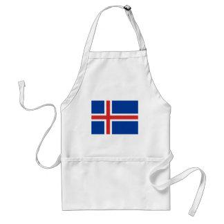 アイスランドはÍslandの旗です スタンダードエプロン