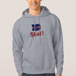 アイスランド語Skal! (応援) パーカ