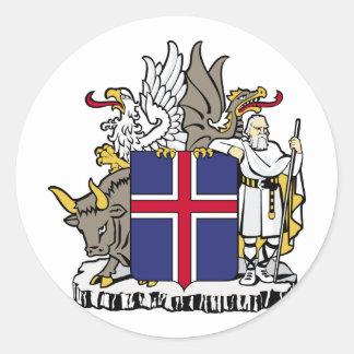 アイスランド、アイスランド ラウンドシール