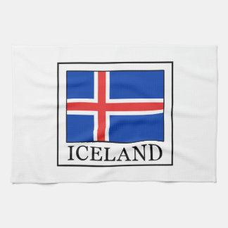 アイスランド キッチンタオル