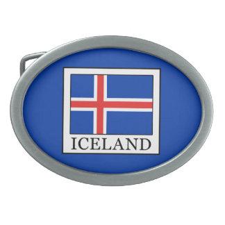 アイスランド 卵形バックル