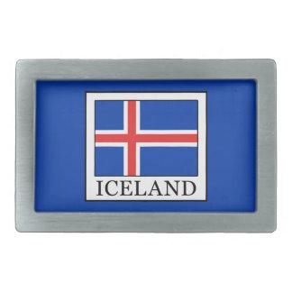 アイスランド 長方形ベルトバックル