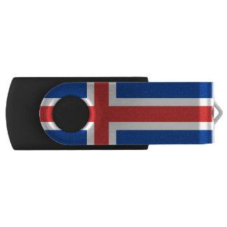 アイスランドUSBのフラッシュドライブの旗 USBフラッシュドライブ