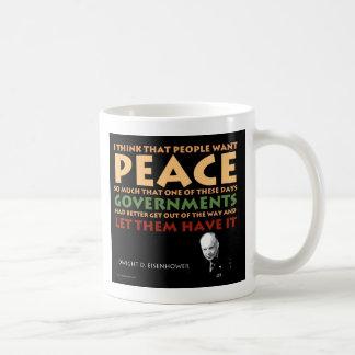 アイゼンハワーのマグ コーヒーマグカップ