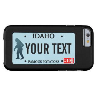 アイダホのサスカッチのナンバープレート ケース