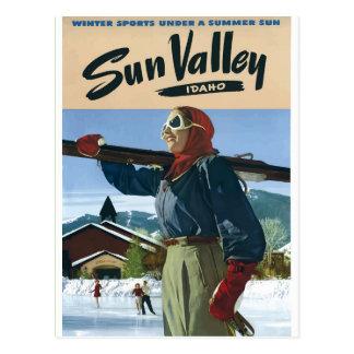 アイダホのヴィンテージ旅行ポスター米国 ポストカード