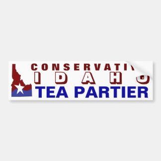 アイダホの保守的な茶Partier バンパーステッカー