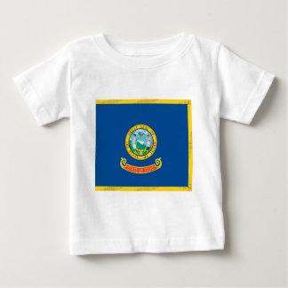 アイダホの公式の州の旗 ベビーTシャツ