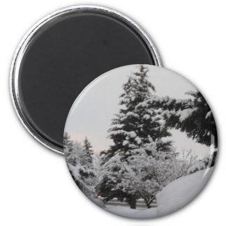 アイダホの冬 マグネット