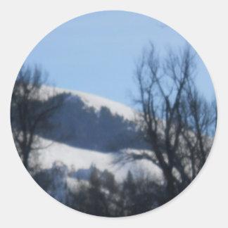 アイダホの冬 ラウンドシール