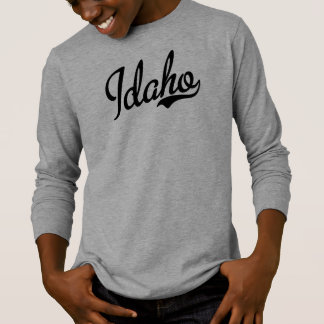 アイダホの原稿Black.png Tシャツ