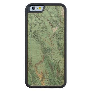 アイダホの土地分類の地図 CarvedメープルiPhone 6バンパーケース