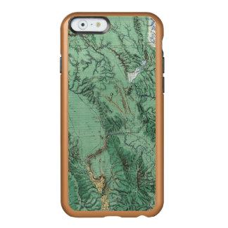 アイダホの土地分類の地図 INCIPIO FEATHER SHINE iPhone 6ケース