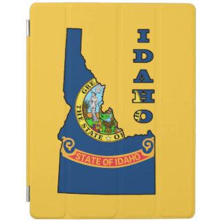 アイダホの地図の旗 iPadスマートカバー