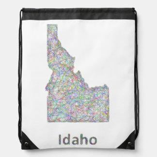 アイダホの地図 ナップサック