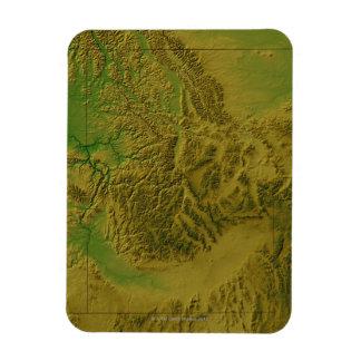 アイダホの地図 マグネット