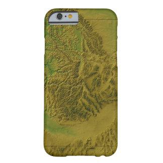 アイダホの地図 BARELY THERE iPhone 6 ケース