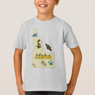 アイダホの子供のTシャツ Tシャツ
