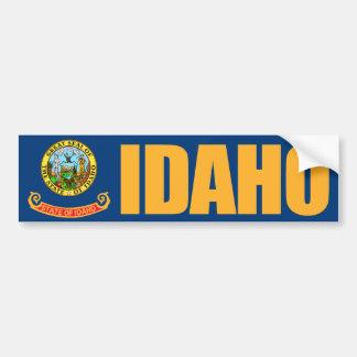 アイダホの州の旗 バンパーステッカー