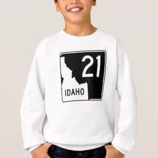 アイダホの州ハイウェー21 スウェットシャツ