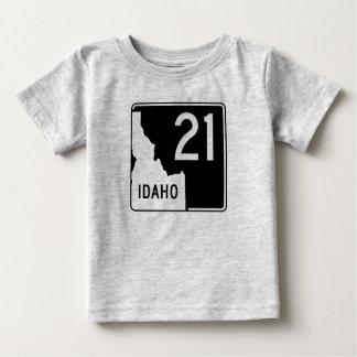 アイダホの州ハイウェー21 ベビーTシャツ