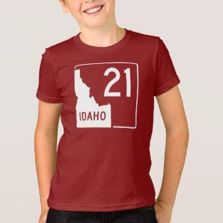 アイダホの州ハイウェー21 Tシャツ