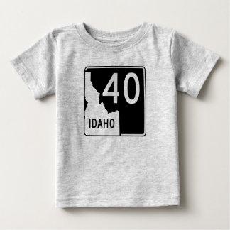 アイダホの州ハイウェー40 ベビーTシャツ