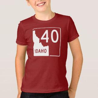 アイダホの州ハイウェー40 Tシャツ