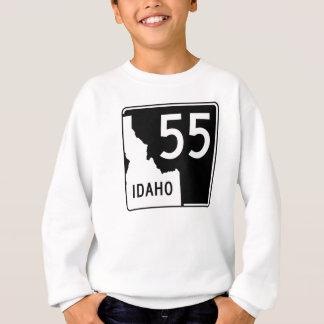 アイダホの州ハイウェー55 スウェットシャツ