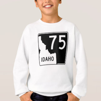 アイダホの州ハイウェー75 スウェットシャツ