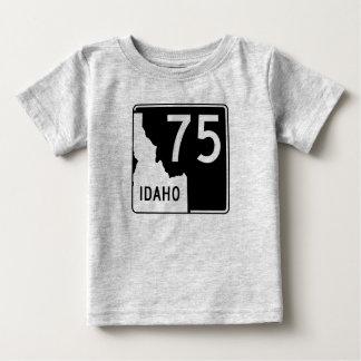 アイダホの州ハイウェー75 ベビーTシャツ