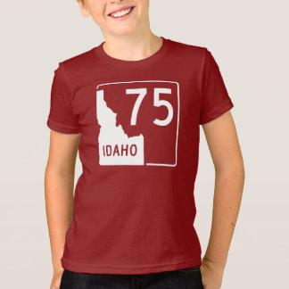 アイダホの州ハイウェー75 Tシャツ