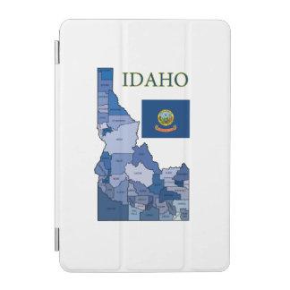 アイダホの旗そして地図 iPad MINIカバー