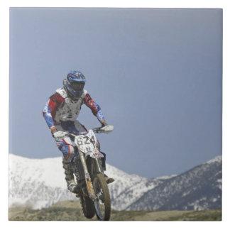 アイダホの競争するモトクロスオートバイ競争の2 タイル