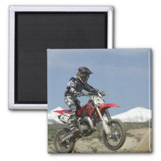 アイダホの競争競争するモトクロスオートバイの マグネット