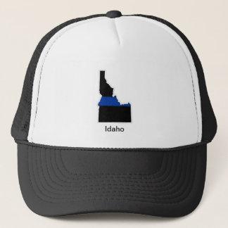 アイダホの薄いブルーライントラック運転手の帽子 キャップ