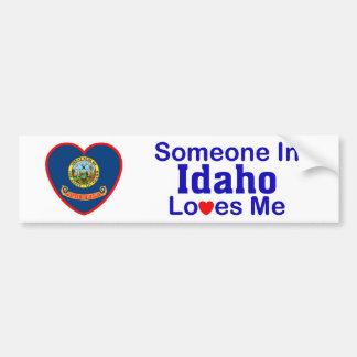 アイダホの誰かは私を愛します バンパーステッカー