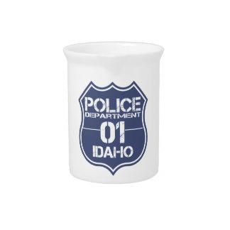 アイダホの警察の盾01 ピッチャー