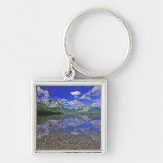 アイダホの鋸歯山のstanley湖 キーホルダー