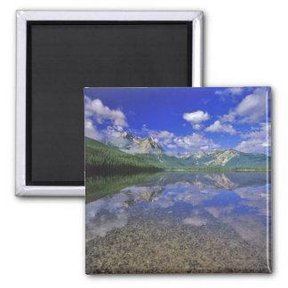 アイダホの鋸歯山のstanley湖 マグネット