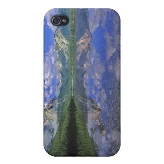 アイダホの鋸歯山のstanley湖 iPhone 4 カバー