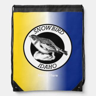 アイダホのSnowbirdの盾 ナップサック