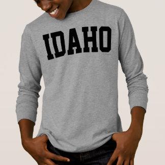アイダホジャージーのフォントBlack.png Tシャツ