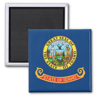 アイダホ州米国の旗が付いている磁石 マグネット