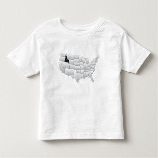 アイダホ米国 トドラーTシャツ